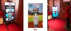 Our first Virtual Dressing Room installation with Kinect v2 debuted with the Phillies Major League Baseball Team at Citizen's Bank Stadium in Philadelphia.