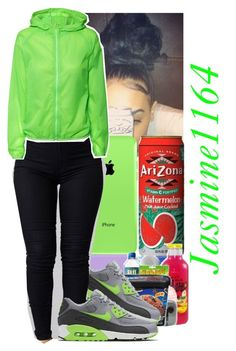 """"""""""" by jasmine1164 ❤ liked on Polyvore featuring NIKE and H&M"""