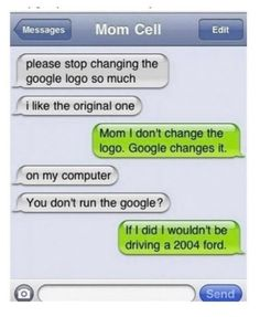 A bunch of funny text messages. Screen captures of text message fails, auto correct and more. So funny. Funny Mom Texts, Funny Text Fails, Funny Text Messages, Haha Funny, Funny Stuff, Mom Funny, Epic Texts, Funny Humor, Funny Things