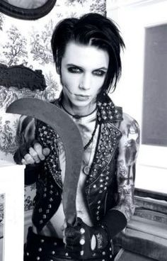 Andy Sixx/So freken hot/ Black veil Brides!! <3