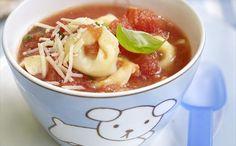 """""""Sopa De Tortellini Y Queso"""" en Nestlé Cocina #recetas #nestlecocina #menuplanner #cocina"""