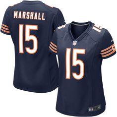 Brandon Marshall Chicago Bears Nike Girls Youth Game Jersey - Navy Blue - $37.99