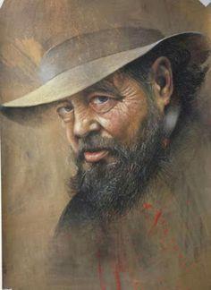 Por amor al arte: Luigi Grassia Luigi, Paintings, Faces, Old Ladies, Painting Art, Painting, Painted Canvas, Drawings, Resim
