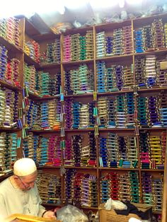 Silk Thread Shop ~ Tanger, Morocco.