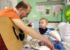 A new study at Great Ormond Street Hospital has proven that lullabies have genuine health benefits for soothing poorly children and reducing their perception of pain, like Berlin Heart patient Samuel: http://blog.gosh.org/research/lullabies/