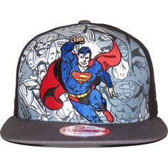 New Era 9Fifty Hero Break Out Superman Snapback Cap : New Era