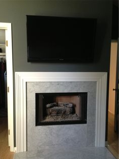 Before & After: Master Bedroom Fireplace