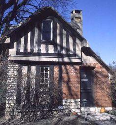 Mistake House, Bernard Maybeck, Principia College, Elsah, Illinois.