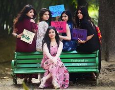 Ideas funny bridal party photos bridesmaid sisters for 2019 Bridal Party Poses, Pre Wedding Poses, Wedding Props, Pre Wedding Photoshoot, Wedding Ceremony, Wedding Ideas, Bridal Shower Photography, Indian Wedding Photography, Wedding Photography Poses