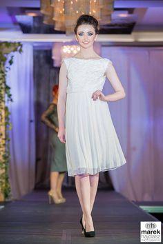 Ivory Petals and chiffon pleats White Dress, Chiffon, Ivory, Collection, Dresses, Design, Fashion, Silk Fabric, Gowns