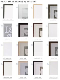 gallery-frames-ready-made-picture-photo-frames-emily-henderson-design-roundup-18x24
