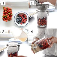 Smoothie Drinks, Smoothies, Healthy Plate, Korean Food, Simple Nails, Easy Cooking, Japanese Food, Chocolate Fondue, Tea Time