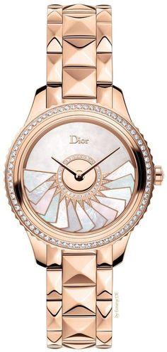 Emmy DE * Christian Dior DIOR VIII GRAND BAL PLISSE SOLEIL Ladies Watch