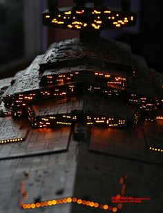 Star Wars Imperial Star Destroyer Model