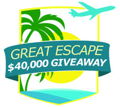"NEW Nutrisystem contest—you could win $10,000 or be swept away to a photo shoot on the beach! #GreatEscapeGiveaway, #ad, @Nutrisystem  ""see rules"""