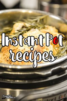 All our Instant Pot Recipes in one place! If you have an electric pressure cooker, you will want to see our list of tried and true recipes!