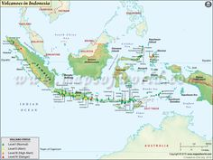 Indonesia map Large Indonesia Map Color Map of Indonesia