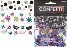 Amscan 21St Birthday Celebrations Confetti Mixes, 1.2 Oz., 2015 Amazon Top Rated Confetti #Kitchen