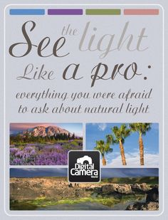 See the light like a pro: everything you were afraid to ask about natural light