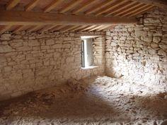 ecco i nostri bei soffitti sabbiati di fresco!