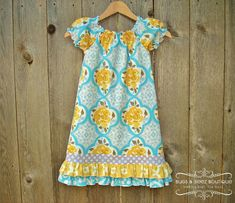 peasant patterns and different ideas. Peasant Double  Ruffled Dress - pdf tutorial - ebook 3M - 6Y