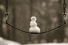 Happy Snowman! by Chris Howard on Flickr.