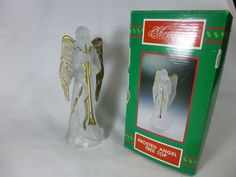 Frosted ANGEL TREE TOP House of LLOYD Christmas Around the World, w/box