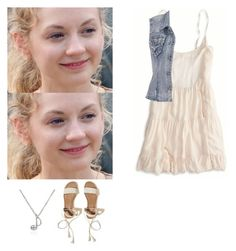 """""""Beth Greene outfit with a dress - twd / the walking dead"""" by shadyannon ❤ liked on Polyvore featuring Belk & Co., American Eagle Outfitters, maurices and Hollister Co."""