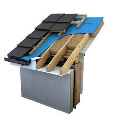 selotex intello roof section