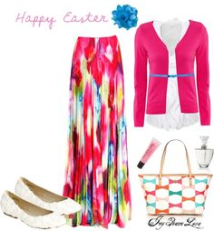 """""""Easter Sunday"""" by audge999 ❤ liked on Polyvore"""