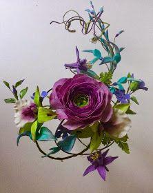 Masterclass by Alan Dunn :Ranunculus, Orichids, Periwinkle, Aquilegia and Jade vine