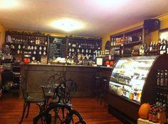 Antique Coffee Shop | Vintage Paris Coffee and Wine Cafe