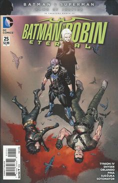 DC Batman and Robin Eternal comic issue 25