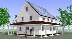 Prefab SmartHomze are Affordable, Net-Zero Energy Kits for Green Living