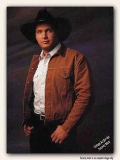Garth Brooks...I miss his music...