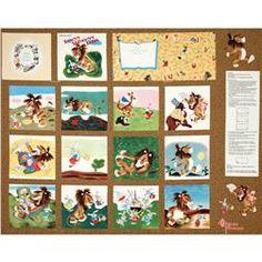 Tawny Scrawny Lion Soft Book Panel White/Multi