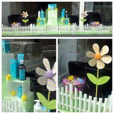 Easter Window Display #Easter #windowdisplay