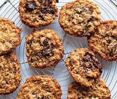Find the recipe for Flourless Oatmeal Chocolate-Chunk Cookies and other chocolate recipes at Epicurious.com