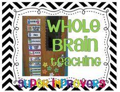 Freebie! Whole Brain Teaching Super Improvers Wall