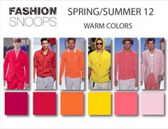 Some spring 2012 colors