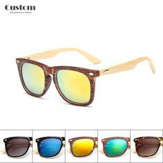 2017 New Bamboo Sunglasses Vintage Men Women Wood Leg Oculos De Sol  Masculino Popular New Design · Oculos De SolÓculos ... 3093ece305