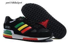 Adidas Originals ZX 750 Mujeres Zapatillas Running Negro Rojo Amarillo Verde Blanco Madrid Tiendas Online