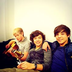 Niall, Harry, and Louis
