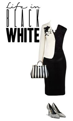 """""""Untitled #2344"""" by tina-teena ❤ liked on Polyvore featuring Ted Baker, Salvatore Ferragamo, Dolce&Gabbana and olgafacesrok"""
