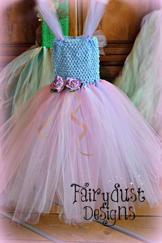 FAIRY TUTU DRESS by FairydustDresses on Etsy, $34.88