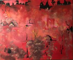 Acrylic painting 70x60 cm My Arts, Painting, Painting Art, Paintings, Painted Canvas, Drawings