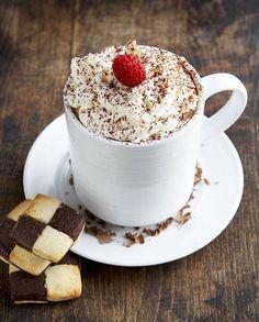 Chocolat chaud façon tiramisu pour 1 personne - Recettes Elle à Table