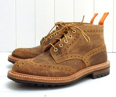 Tricker's for The Bureau Waxy Cuba Short Stow