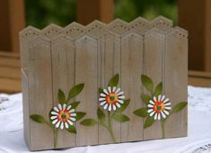 WT217 Kraft Picket Fence Box by sleepyinseattle - Cards and Paper Crafts at Splitcoaststampers