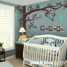 NEW DESIGN Wall decals The Big Giant Swirly Tree by pinknbluebaby, $129.00